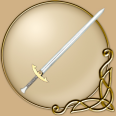 LARP 43 inch Golden Champion Sword